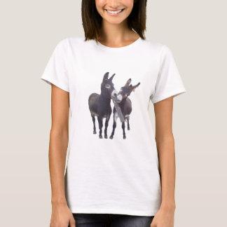 """Die Esel-"""" Damen-zierliches T-Stück """"des Mädchens T-Shirt"""