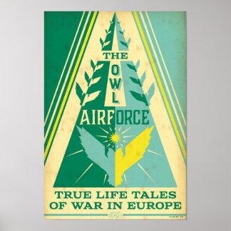 Die Eulen-Luftwaffe Poster