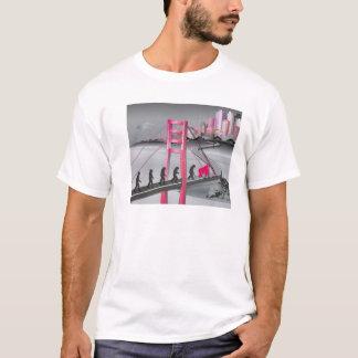 Die Evolution der Ankunft T-Shirt