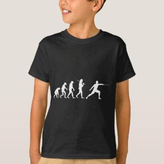 Die Evolution des Fechtens T-Shirt