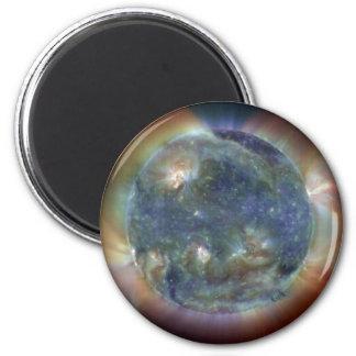 Die extreme ultraviolette Sun NASA Runder Magnet 5,1 Cm