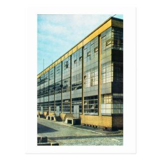 Die fagus-Schuh-Fabrik, entworfen von Walter Gropi Postkarten