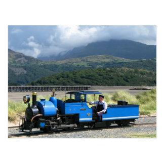 Die Fairbourne Eisenbahn Postkarte