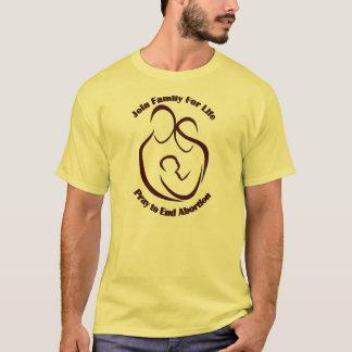 Die Familie der Männer für das Leben T-Shirt