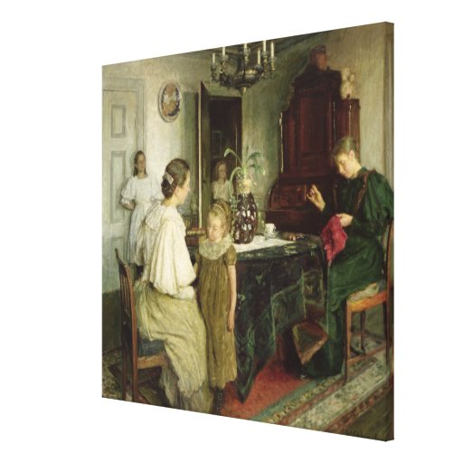 Die Familie des Künstlers, 1895 Leinwanddrucke