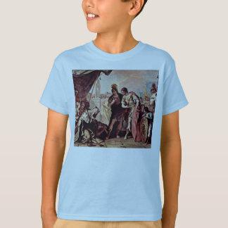 Die Familie von Dario vor Alexander der Große T-Shirt