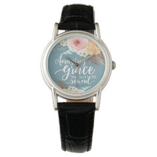 Die fantastische Uhr der Anmut-Frau
