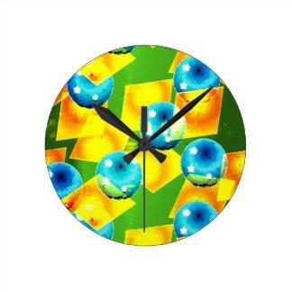 Die Farben Brasiliens Runde Wanduhr