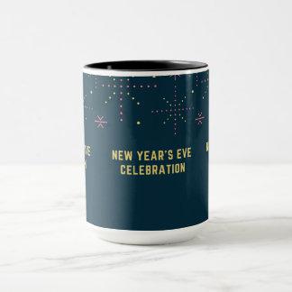 die Feier des neuen Jahres Tasse