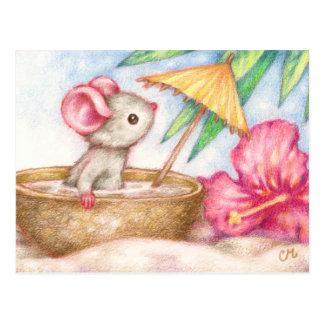 Die Ferien der Maus - niedliche Postkarten