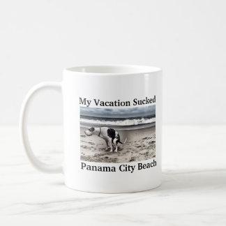 Die Ferien mein Hundes Kaffeetasse