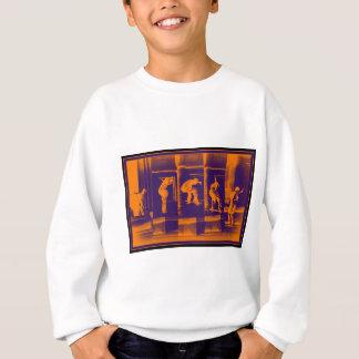 Die feste Orange Sweatshirt