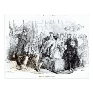 Die Festnahme der Nonkonformisten Postkarte