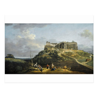 Die Festung von Konigstein durch Bernardo Bellotto Postkarte