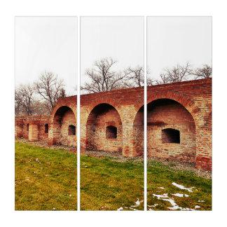 Die Festungs-Wand Triptychon