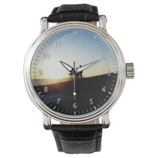 Die Firma zwei Armbanduhr
