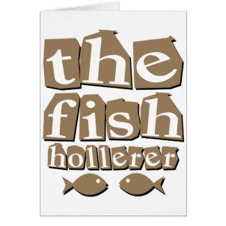 Die Fische Hollerer Grußkarte