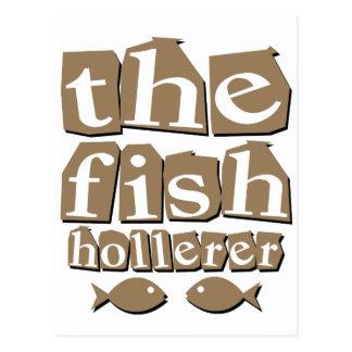 Die Fische Hollerer Postkarte