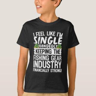 Die Fischindustrie finanziell stark behalten T-Shirt
