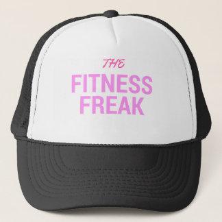 Die Fitness Freak-Rose Truckerkappe