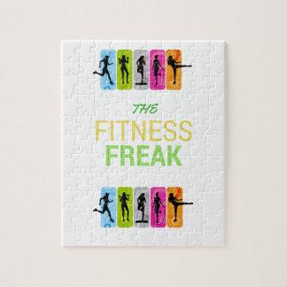 Die Fitness Freak-Zitrone Puzzle