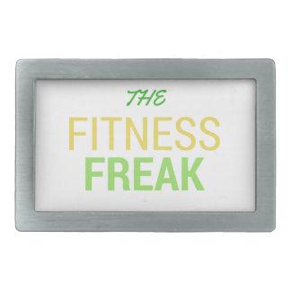Die Fitness Freak-Zitrone Rechteckige Gürtelschnalle