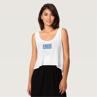 Die Flagge der Frauen von Griechenland-Trägershirt Tank Top