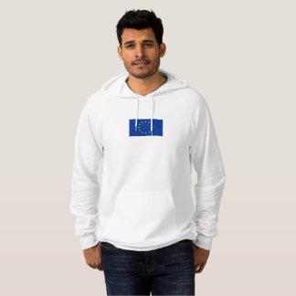 Die Flagge der Männer des europäischen Hoodie