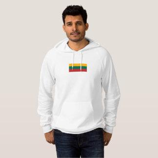 Die Flagge der Männer von LitauenHoodie Hoodie