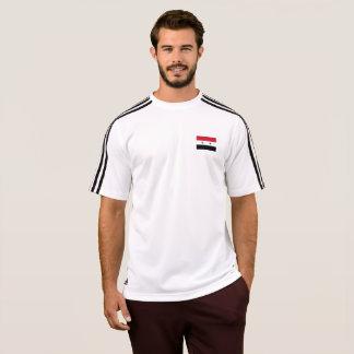 Die Flagge der Männer von Syrien-T - Shirt