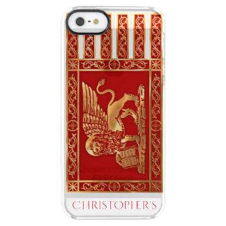 Die Flagge der Republik von Venedig, Italien Durchsichtige iPhone SE/5/5s Hülle