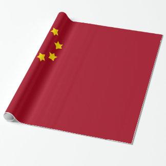 Die Flagge der Volksrepublik China Geschenkpapier