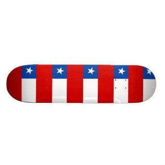 Die Flagge des Chilen Individuelle Decks