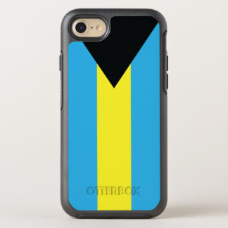 Die Flagge des Commonwealth of the Bahamas OtterBox Symmetry iPhone 8/7 Hülle