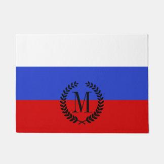 Die Flagge des Russen Türmatte