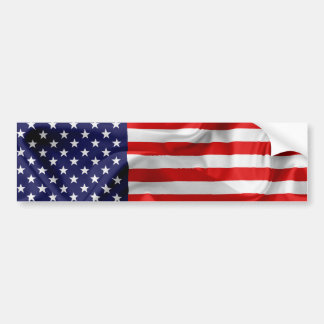 Die Flagge des USA Autoaufkleber