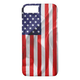 Die Flagge des USA iPhone 8/7 Hülle