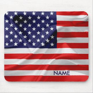 Die Flagge des USA Mousepad