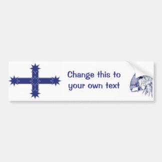 Die Flagge Eureka-Arbeitskraft Autoaufkleber