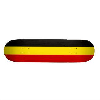 Die Flagge von Belgien Individuelle Skateboards
