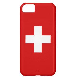 Die Flagge von der Schweiz iPhone 5C Hüllen