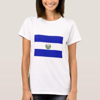 Die Flagge von El Salvador. T-Shirt