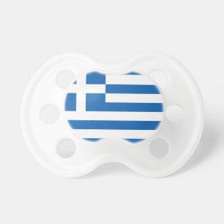 Die Flagge von Griechenland Schnuller