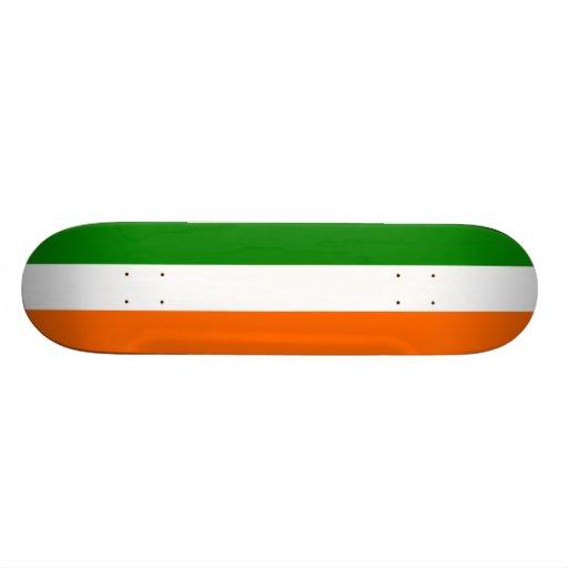 Die Flagge von Irland Skateboard Bretter