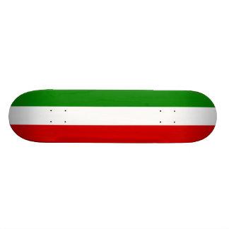 Die Flagge von Italien Individuelles Skateboard