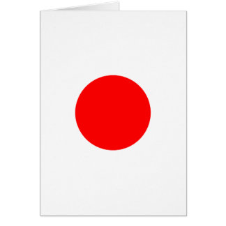Die Flagge von Japan Karte