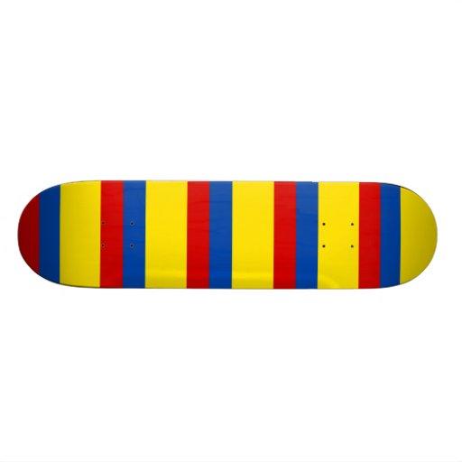 Die Flagge von Kolumbien Personalisierte Skatedecks