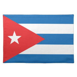 Die Flagge von Kuba Tischsets