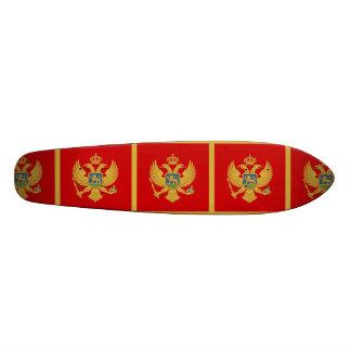 Die Flagge von Montenegro Individuelle Decks