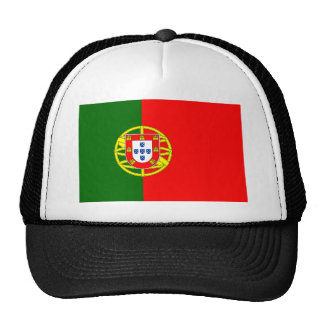 Die Flagge von Portugal (Bandeira De Portugal) Retromützen